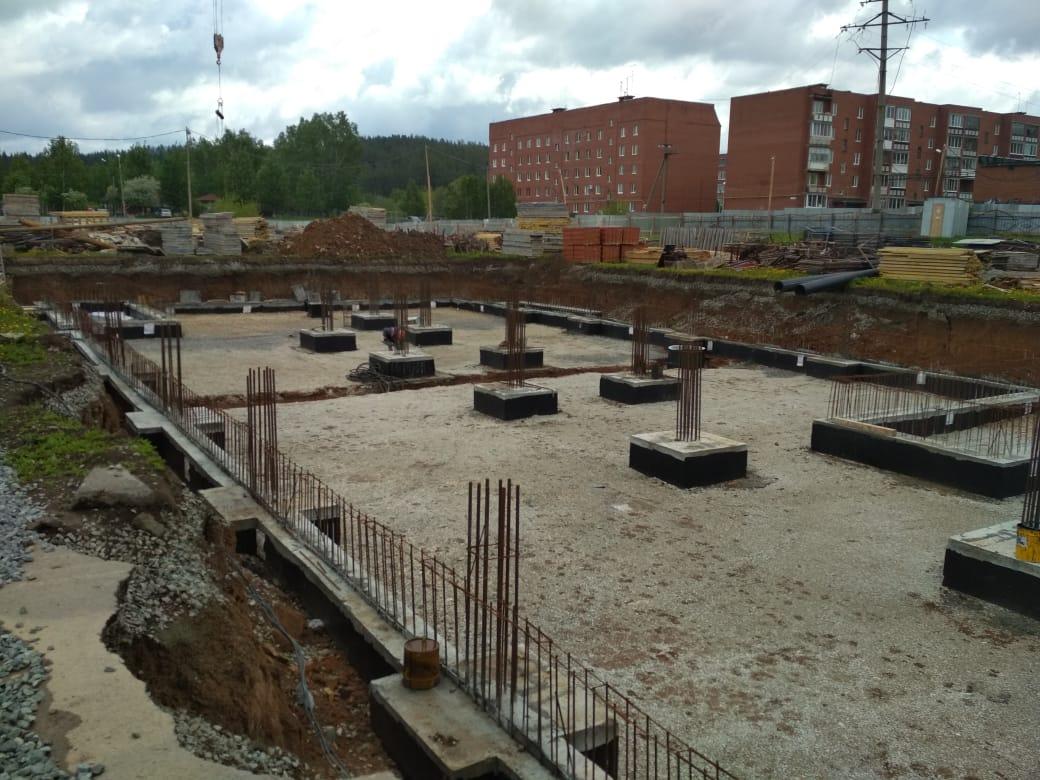 Строительство объекта: «Общеобразовательная школа на 500 учащихся в Свердловской области в г. Ревда