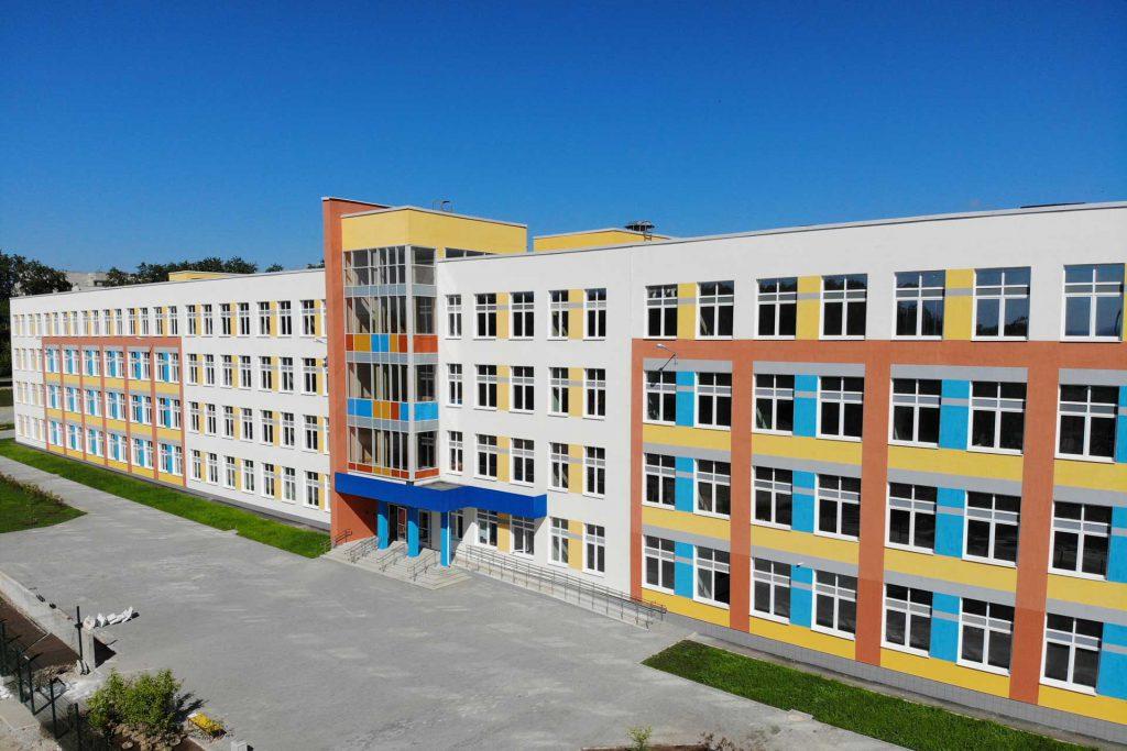 Cдан объект в городе Кировграде «Школа на 1200 мест»